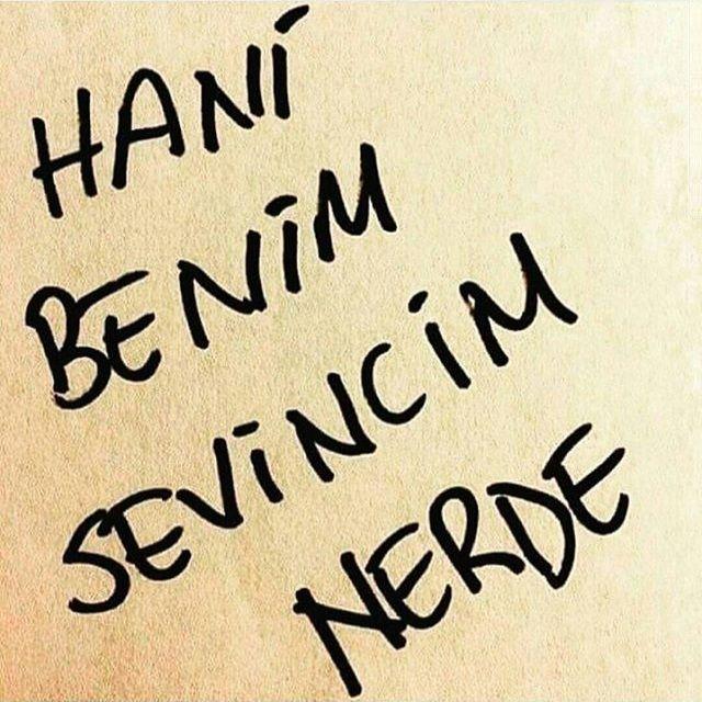 Hani benim sevincim nerde... - Ahmet Kaya / Hani Benim Gençliğim...@oclskn71