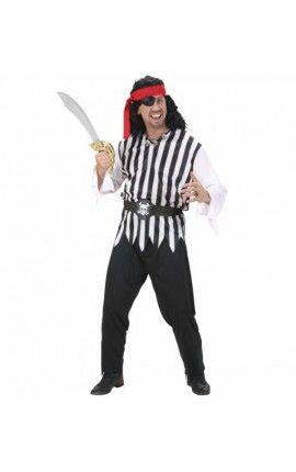Disfraz de pirata pícaro para hombre