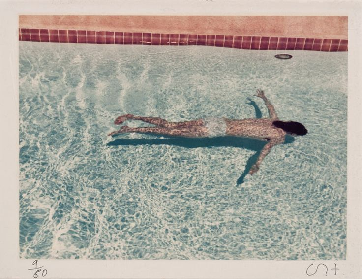 David Hockney John St. Clair Swimming (from Twenty Photographic Pictures) Published by Sonnabend Editions, New York 1972; printed 1976 Chromogenic print