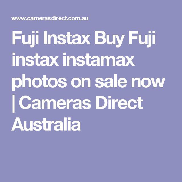 Fuji Instax Buy Fuji instax instamax photos on sale now | Cameras Direct Australia