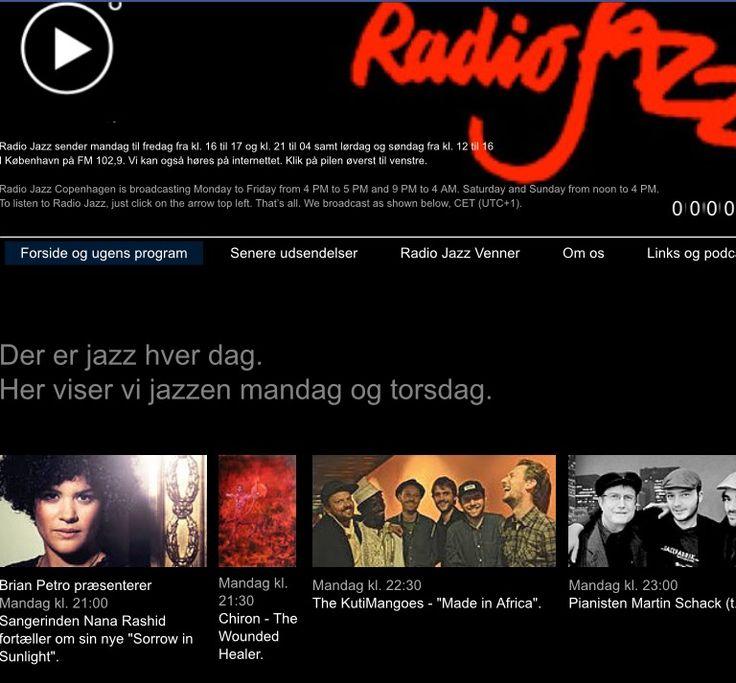 Radio jazz i aften kl. 21.30 på FM 102,9 og på nettet www.radiojazz.dk