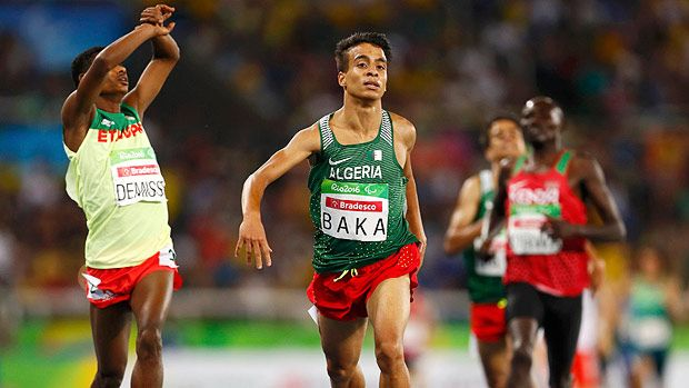 2016 Rio Paralympics - Athletics - Men's 1500m - T13 Final - Olympic Stadium…