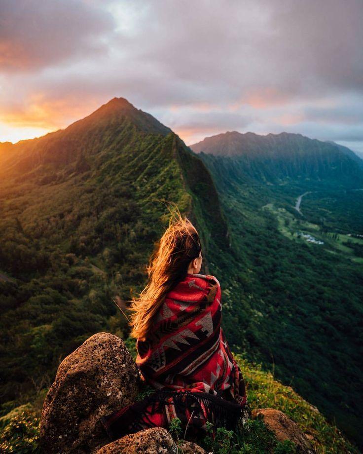 красивые фото людей в горах