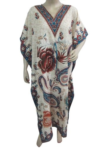 Long Kaftans Maxi Cover up Satin Crepe Womens « Dress Adds Everyday