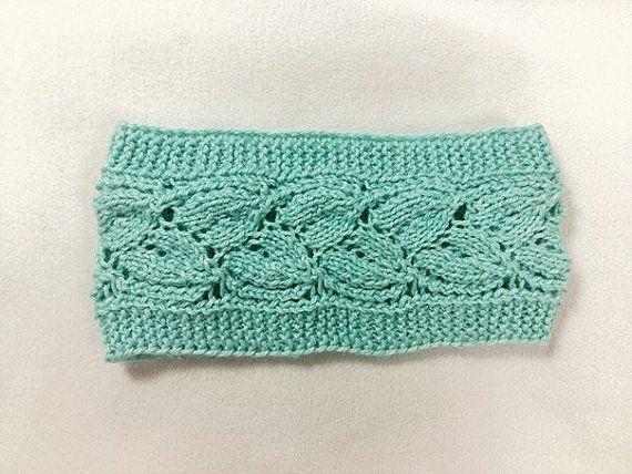 #MintCableKnittedHeadband #knitted #KnittedHeadband #Headband
