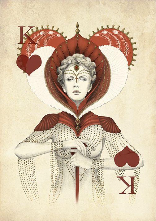 Playing poker cards set by Marisa Jimenez's Artist