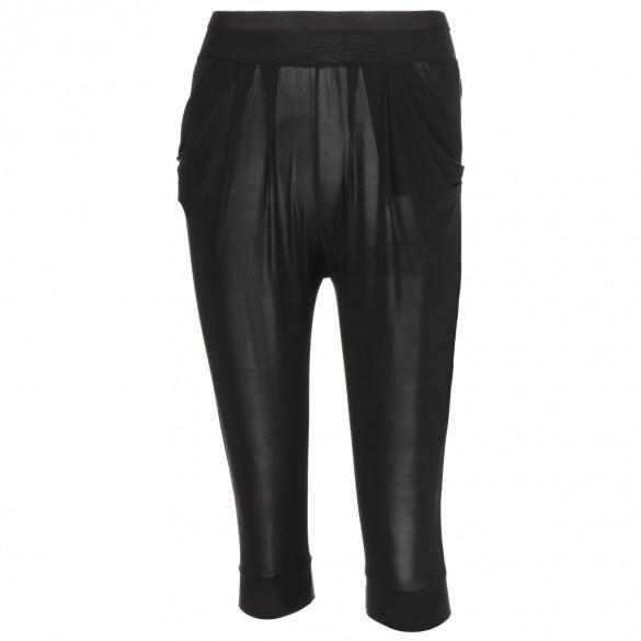 Fashion Women Casual Hippie Style Leggings Multi Fold Pants