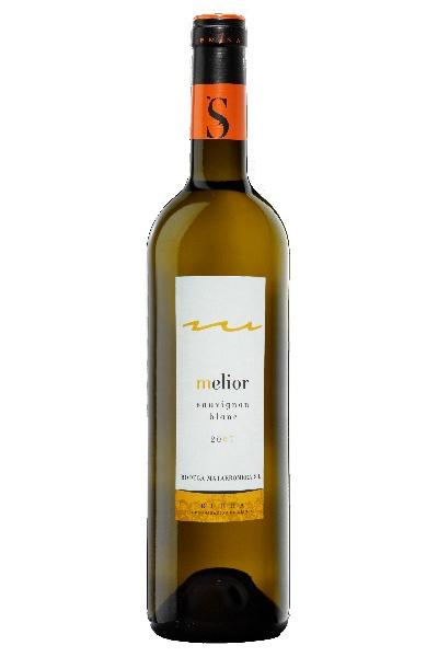 """D.O RIBERA DEL DUERO. Vino Blanco """"Melior Sauvignon"""". Uvas: Sauvignon."""
