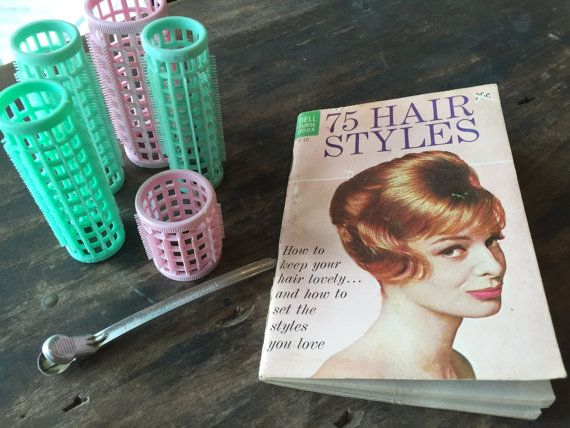 Vintage Hairstyle Book 1960s Hair Tutorial Guide by StylishPiggy