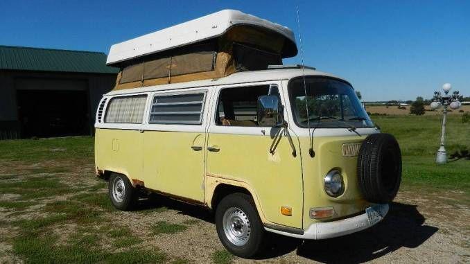 1971 In St Nicholas Mn Vw Bus Camper Bus Camper Campers For Sale