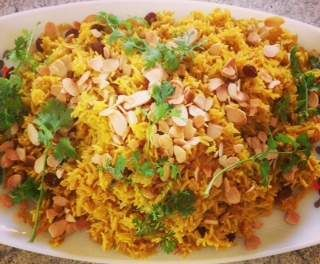 Recipe indian spiced yellow rice t5 by jeodon - Recipe of category Side dishes