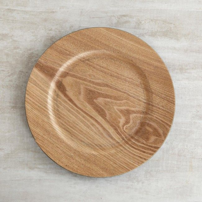 Dress up your dining table with one of these attractive charger plates. A great addition to any place setting.