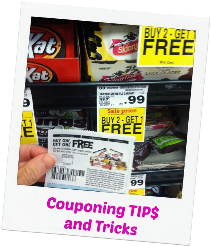 Couponing Tips and Tricks. I don't know why I need this, but I have a feeling I may need it later