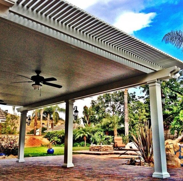 Wood Patio Cover Kits