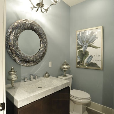 silver oval mirrors bathroom soo pretty beautiful traditional bathroom design with 20364
