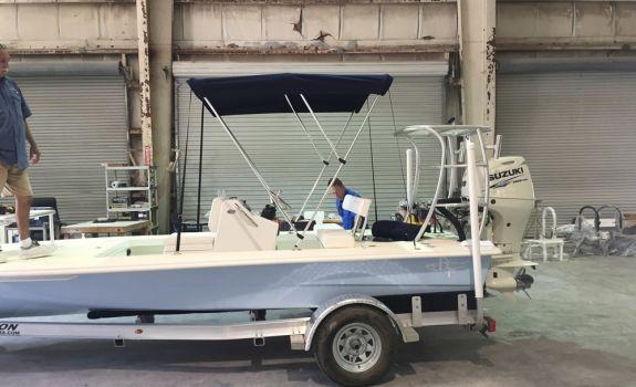 Bimini Shade Top Various Colors   Flats boat project   Boat