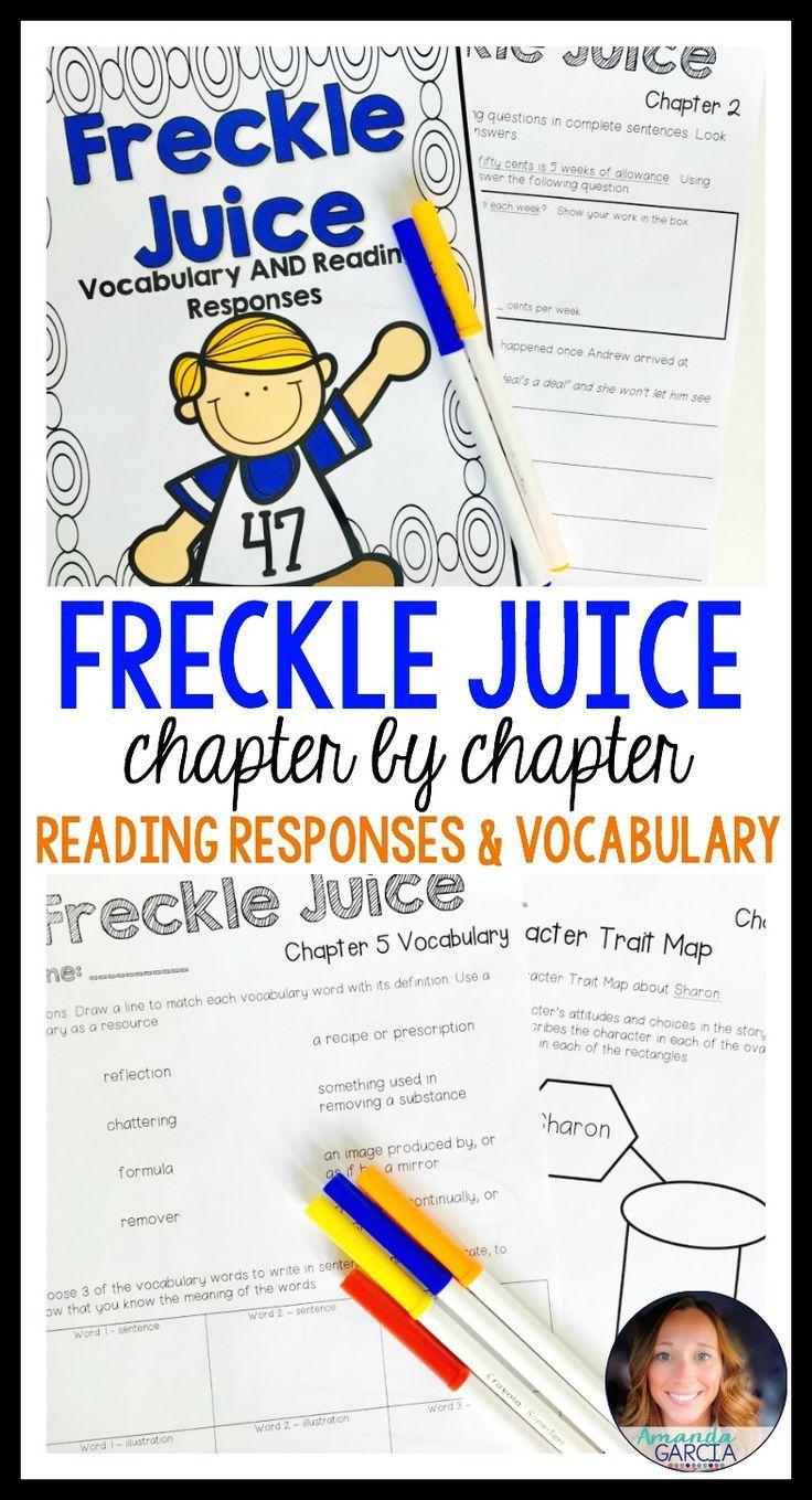 Worksheets Freckle Juice Worksheets best 25 freckle juice ideas on pinterest reading comprehension juice