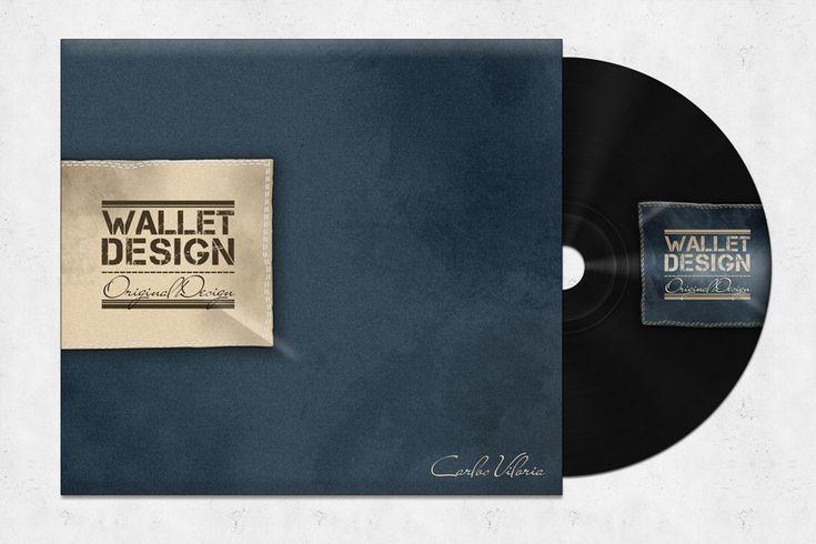 Wallet CD Mockup (Free PSD)