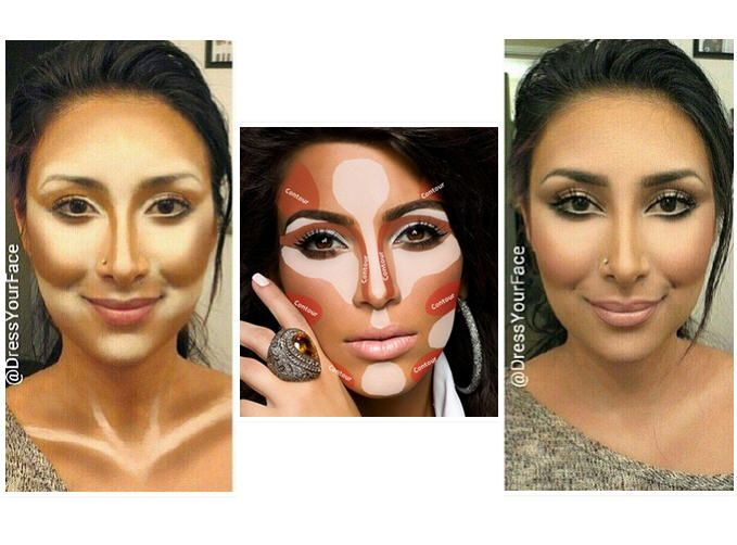 How To Contour Your Face Correctly For Thin And Small Face ...