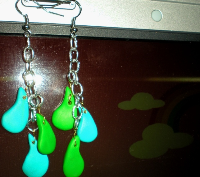 Earrings..