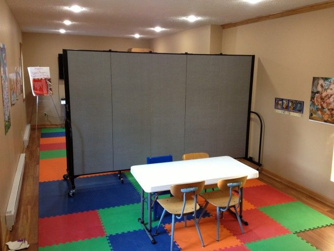 great ideas for maximizing space in your facility using portable room dividers portable walls see - Portable Room Dividers