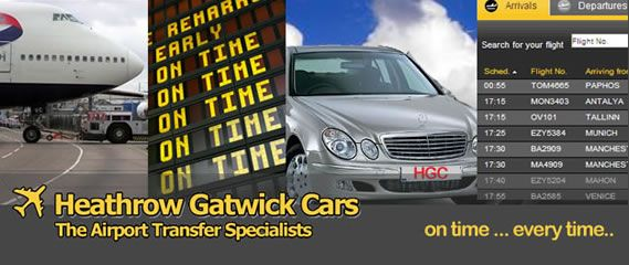 London Airport Transfers private hire taxis transport company for Heathrow and Gtwick Airport