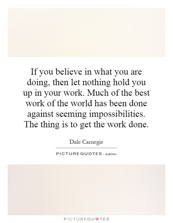 If you believe in what you are doing, then let nothing hold you up - 2 week notice template