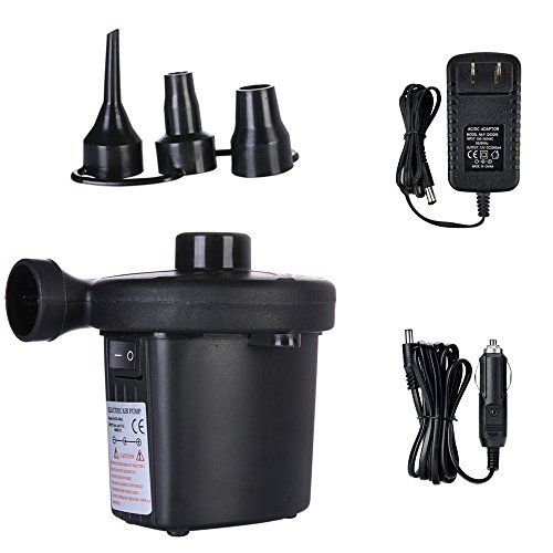 Electric Portable Quick-Fill Air Pump for Inflatables Air Mattress Raft Pool Toy