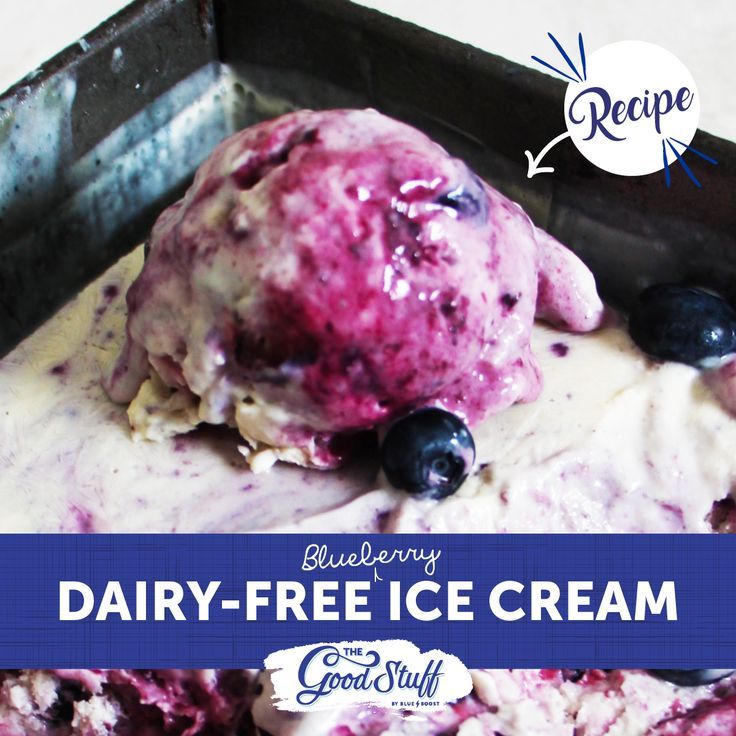 There's nothing quite like digging into a melty bowl of nourishing blueberry ice cream; even better when it's packed with super-food fellas like blueberries and chia.  This dollop of delicious is 100% refined sugar-free, gluten-free and dairy-free – just the way we like it.   #Blueberries #dairyfree #sugarfree #icecream #glutenfree #health #nutrition #wellness #recipe