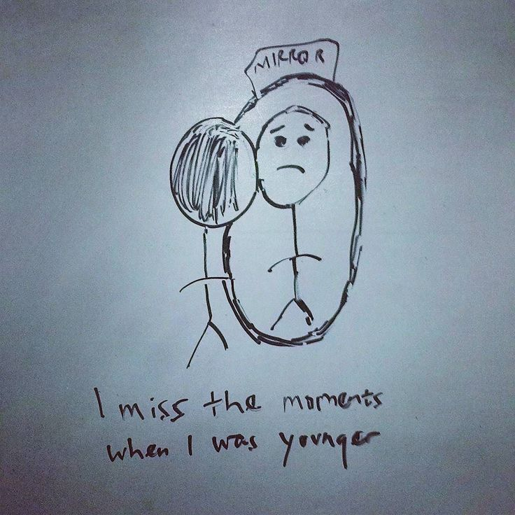 I miss the moments when i was younger