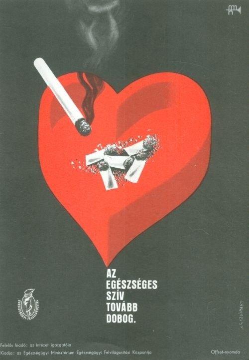 Tamássi Zoltán: Az egészséges szív tovább dobog. 1972   Plakát galéria