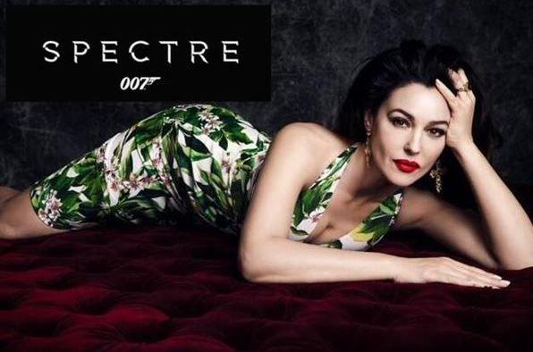 Monica Bellucci's in Spectre