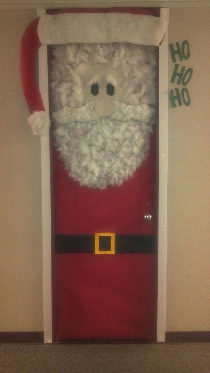 69 Best Christmas Door Decorations Images On & easy christmas door decorations | Decoration For Home