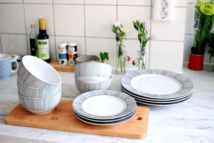 Plates and bowls and plates