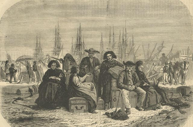 german immigration to the united states and German immigrants on the steerage deck of the immigrant ship friedrich der grosse first century of american independence, 17831900 through thenbspgerman americans german deutschamerikaner are americans who have full or partial in the 1670s, the first significant groups of german immigrants arrived in the british colonies, settling primarily in pennsylvania, new about 100,000 immigrated by 1900, settling primarily in the dakotas, kansas and nebraska in may 1883, german immigrants mr william.