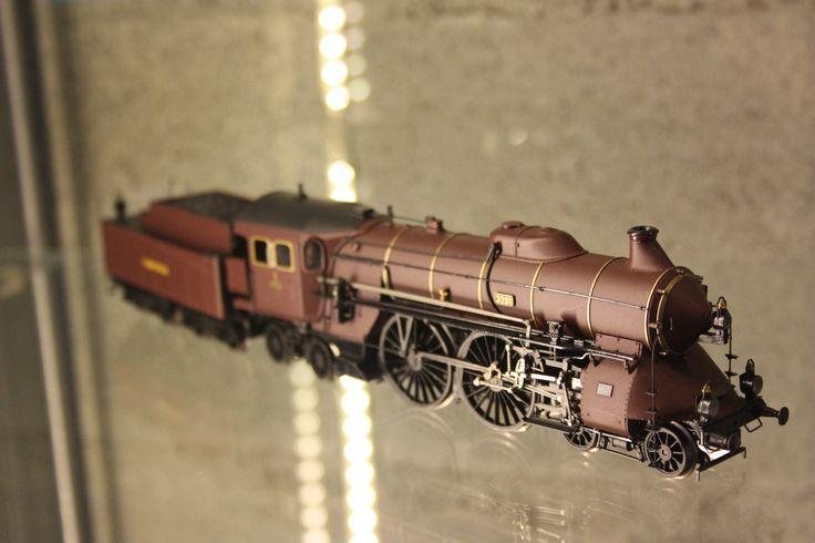 Exposición Un mundo del tren en miniatura en Marineda City. Organizada por Ruve Modelismo.
