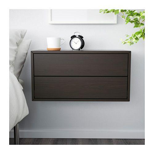 valje wandschrank mit 2 schubladen braun ikea home pinterest wandschr nke schubladen. Black Bedroom Furniture Sets. Home Design Ideas