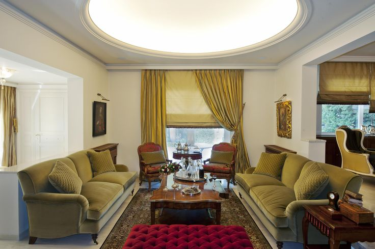 single house -  living room / Vouliagmeni  - Greece / interior designer Sissy Raptopoulou