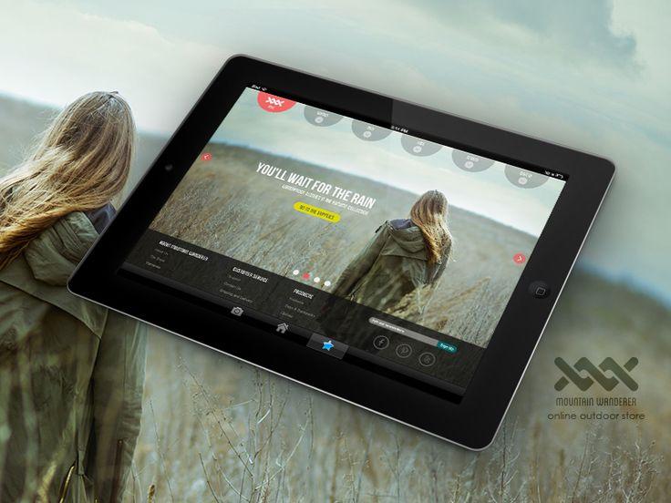 Mountain Wanderer - iPad mood
