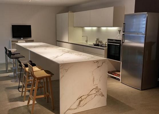 Dekton Aura Island Benchtop Kitchen Complete Pinterest Islands And Auras