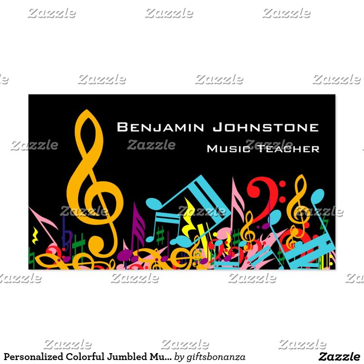 48 best Music Business Cards images on Pinterest | Carte de visite ...