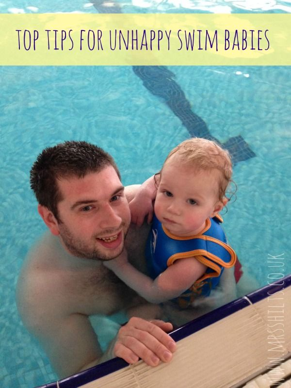 Top tips for unhappy swim babies - Life According to MrsShilts