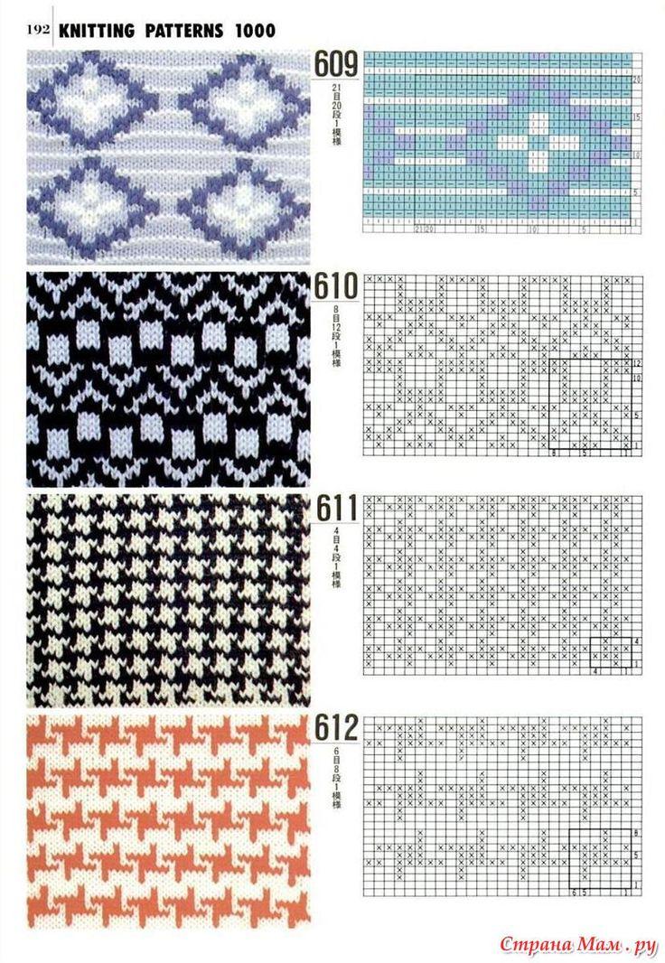 49 best Knitting stitches fairisle images on Pinterest | Knit ...