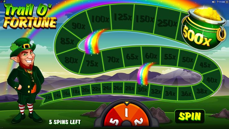 Lucky Leprechaun Online Slot Game - play at www.europalace-casino.com