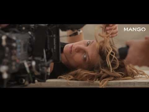 Daria Werbowy for MANGO Spring 2014 - The making of - YouTube #DariaWerbowy #TopModel #SS14