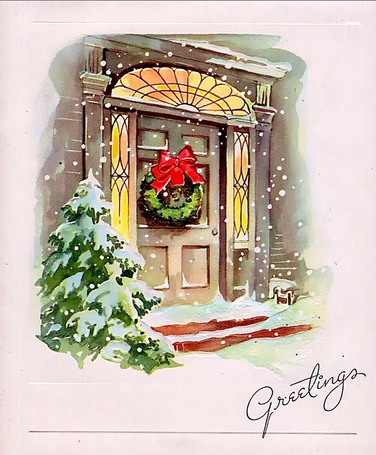 Snowy Christmas Eve.