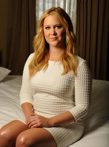 "Amy Schumer is so real. I just adore her: her standup, the movie ""Trainwreck"", her wittiness, she is the epitome of female awesomeness. :)"
