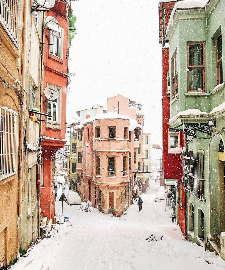 Balat-İstanbul Winter