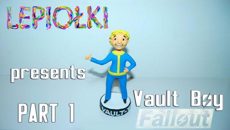 Vault boy ( Fallout)   lepiołki  PART 1 polymer clay, z modeliny, made hand game, Fallout 4, Fallout3, Fallout2,  Fallout, sculpt, clay,