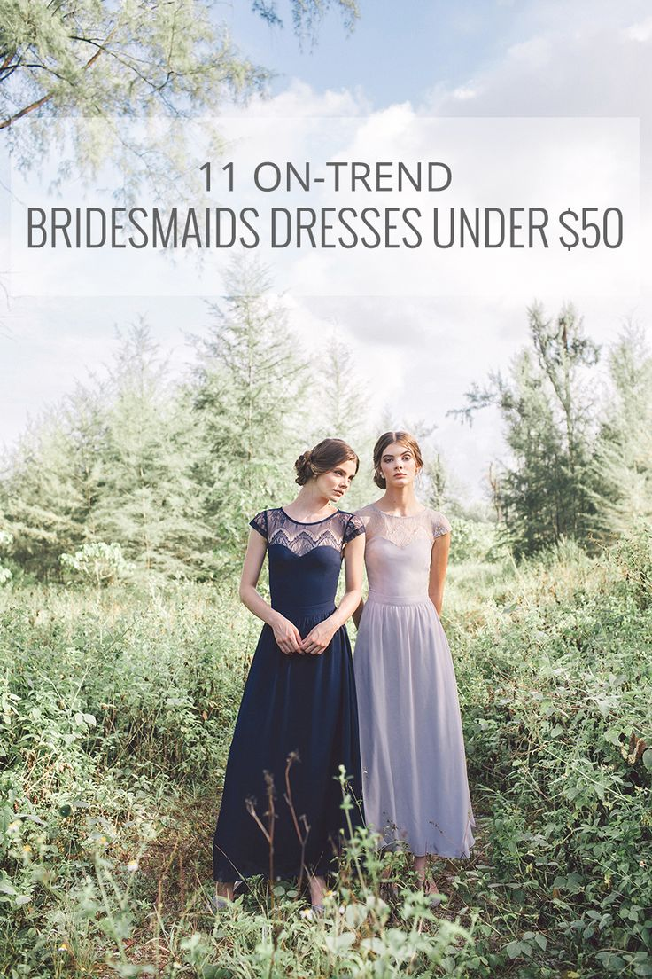 Best 25 bridesmaid dresses under 50 ideas on pinterest western 11 on trend singapore bridesmaid dresses under 50 your bffs will love ombrellifo Image collections